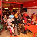 Audience and contestants at the cosplay presentation at Liburnicon 2014.