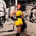 Silk Spectre cosplay at Liburnicon 2014.