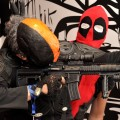 Deadpool and Deathstroke cosplay at Liburnicon 2014.