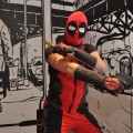 Deadpool cosplay at Liburnicon 2014.