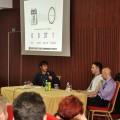 Krešimir Mišak talk show with Davor Horvatić and Davor Jadrijević at Liburnicon 2014.