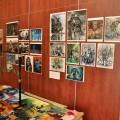 Art exhibition at Liburnicon 2014.