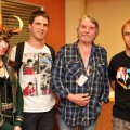 Ian Gibson with fans and a Norse god(dess) at Liburnicon 2014.