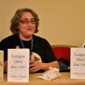 Guest of Honor Gillian Polack at Liburnicon 2014.