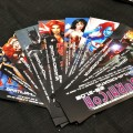 Superhero bookmarks, only at Liburnicon 2014. :)