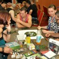 Gaming room at Liburnicon 2014 - Carta Magica table