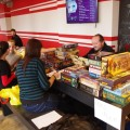 Selection of board games at Tabletop Day
